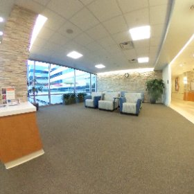 3rd floor atrium public area. #rehabilitation #theta360