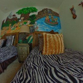Animal Kingdom twin room