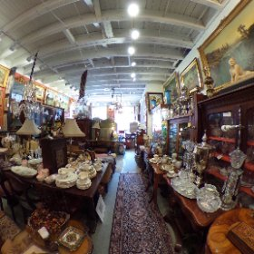 A Galerie antique shop in Old Town Alexandria, VA