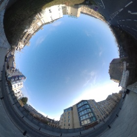 Grove Street west side above West Approach Road. Last 1 of this Sunday morning stroll.  #theta360