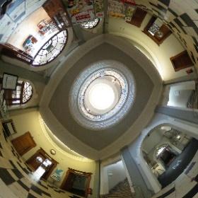 Entrance lobby at York Explore central library #theta360