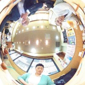 広島行ってきます!  …その前に。。。。 #theta360