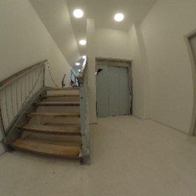 Flur Treppenabsatz Westflügel #theta360de