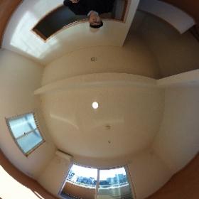 世田谷区等々力の「等々力ハウス」3LDKテラスハウスのLDKパノラマ写真です。南側が開けており日当り良好な室内ですよ。物件詳細はこちらhttp://www.futabafudousan.com/bukken/g/syousai/746dat.html #theta360