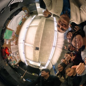 State Department brings Chinese Delegation from Jinan to @calnewmedia #theta360