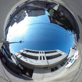 松山市の賃貸、BOWマンションの南側