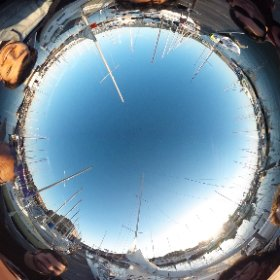 360 Photo of the VR sailing crew.