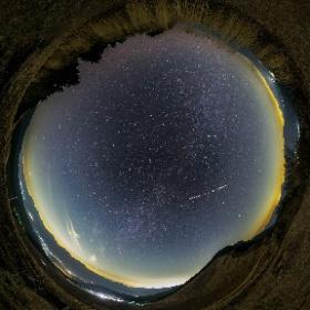 曽爾高原亀山山頂付近の星空