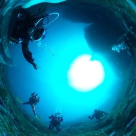 2020/03/07 雲見、24アーチ前 #padi #diving #FLIPPER-dc #フリッパーダイブセンター #雲見 #theta #theta_padi #theta360 #群馬 #伊勢崎 #ダイビングショップ #ダイビングスクール #ライセンス取得