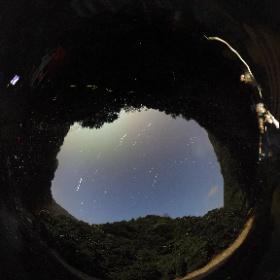 ホタルと星座(錦町) http://laboknoby.com/jp #theta360