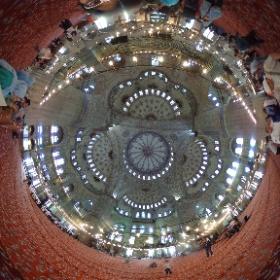 Blue Mosque #Istanbul360 #LifesAjourney #theta360