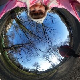 360 degree selfie!