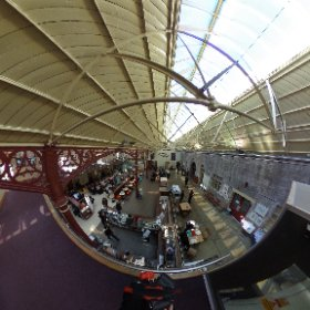 the station Richmond North Yorkshire #theta360 #theta360uk