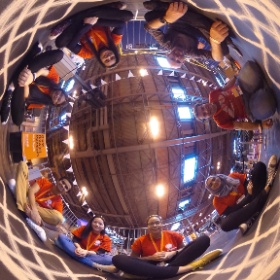 Big Bang Fair 2016, Birmingham NEC  Day 1: Sand Spirograph and helpers #theta360 #theta360uk