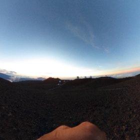 At the top of Mauna kea #theta360