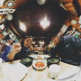2017.4.7. 여의도 윤중로 벚꽃보고 수요미식회에 나온 꼬리곰탕집 덕원식당