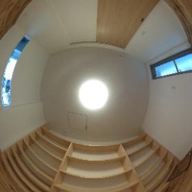 福岡市中央区新築住宅工事 1階書斎