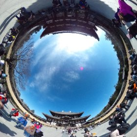奈良・東大寺1 #theta360
