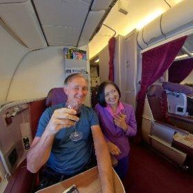 insta360 one x in flight on commercial aeroplane flight https://linkfox.io/LeQwU #InstaOneXaeroplaneGig #firefly3d #perthairport #thaiairways #thaiairwayscrew #bangkok #flying #upupandaway #watourism #bangkoktourism #luckysaidso #livelovelaugh #theta360
