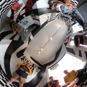 """Time to escape work! Let's accept the challenge at #EscapeTheRoom #Scottsdale. Of course I picked the hardest room, the """"#Jurassic #Escape."""" That should be fun! (this photo was taken moments after our #ReservoirDogs team photo in the parking lot. #theta360"""