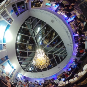 Here's another immersive photo of The Community Foundation Raise the Region Gala - this one with the Theta app upload