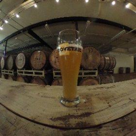 Dovetail Brewing tour. #drinkwhereyourbeerismade #theta360