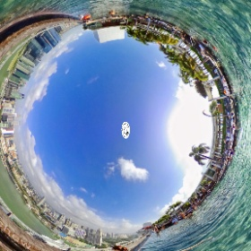Infinity Pool Marina Bay Sands - www.ansonchew.com #ansonchew #anson360 #singapore #InfinityPool #MarinaBaySands #mbs #theta360