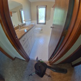 Outside bathroom #theta360