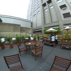 浦和ロイヤルパインズホテル「赤松」ビアガーデン #theta360