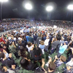 360 image of Bernie Sanders rally in Carson California tonight. @nbcla #theta360