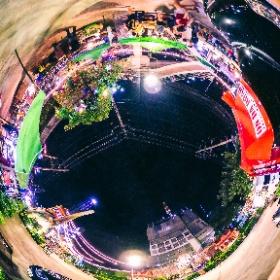Suan Lum Night Bazarre #theta360