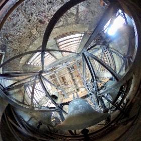 360°-Blick in den Glockenturm der evangelischen Stadtkirche Tuttlingen. #TUTerleben #theta360
