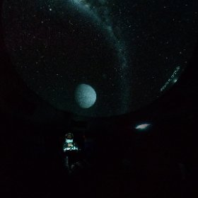 Exploring space at Taylor Observatory's planetarium