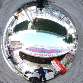 Honda Cars 梅田西 野田阪神店様の採用サイト撮影 #theta360