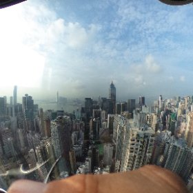 Great views from the Hopewell Centre, HK  cc @janeh271 @musicmind @itlworldwide #theta360