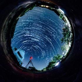 #松江 #鹿島 #ペルセウス座流星群 #theta360