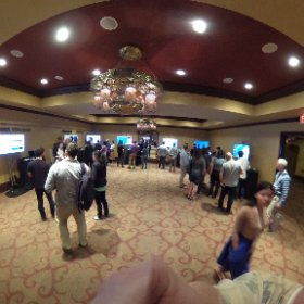 Great #DataViz demos in the showcase at the Tapestry Conference #tapestryconf #theta360