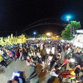 ウボンラチャタニ、ロウソク祭り #theta360