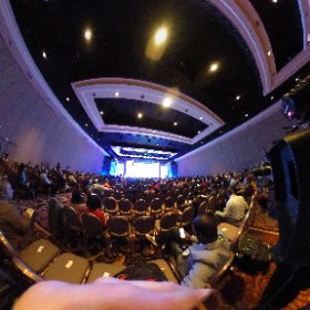 Ford presser a little sparse this morning at #ces2016  #theta360
