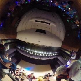 #江別コスプレミュージックパーティー おジャ魔女カーニバルの様子をパノラマカメラで #theta360
