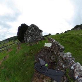 church ruins opposite fore abbey #theta360