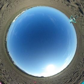 砂の惑星さ… #miku360  #theta360