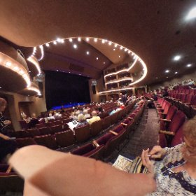 Here's a 360° photo of The Mcallum Theatre in Palm Desert, California.  Very nice theatre.  We had a great time there last night. #theta360