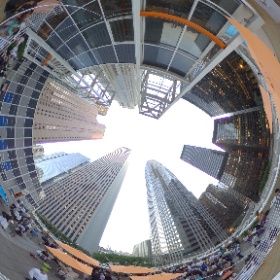 View from the rooftop of Lakeshore Sport & Fitness during #hospitalityfest2016  Photograph by Christopher R. Côté #theta360