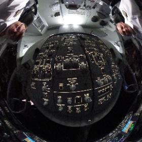 Night flight #b787 #theta360 #theta360uk