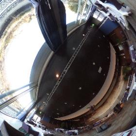星野リゾート ロテルド比叡、レストラン。 全面窓から入ってる光が美しい、外の景色も楽しめます。 #しがトコ #琵琶湖 #滋賀県 #滋賀 #びわ湖 #星野リゾート #theta360