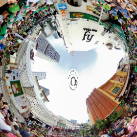 Saint Patrick's Day - www.ansonchew #ansonchew #anson360 #StPatrickDay #singapore #allthingsirish #singaporeriver #stpatricksday2016 #cantonst  #theta360