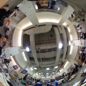 .@hopeconf #hopeconf near no starch press in 360 ...  #theta360