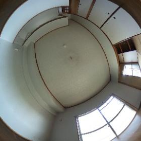 鹿児島市坂之上 第2吉窪ハイツ405 LDK+和室6畳 #theta360