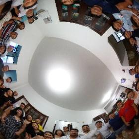 Família reunida no último dia do ano  #theta360